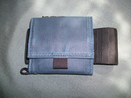 Julpak Little Mule Front Oilskin Denim Blue